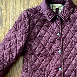 *Authentic* Burberry Quilted Jacket